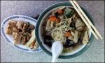 soup and tofu