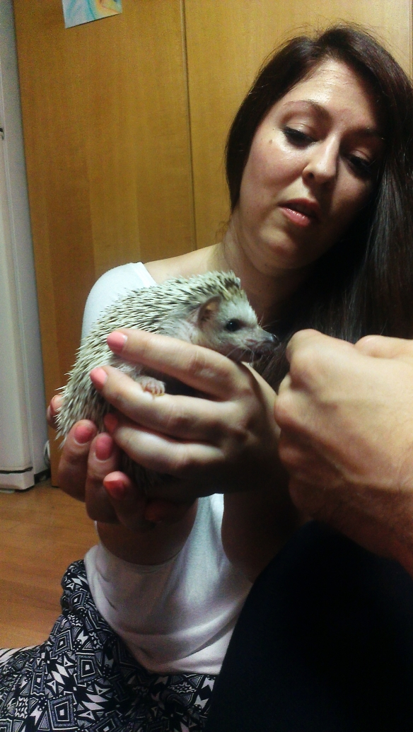 And how about that hedgehog?!  Mumu - the nocturnal monster