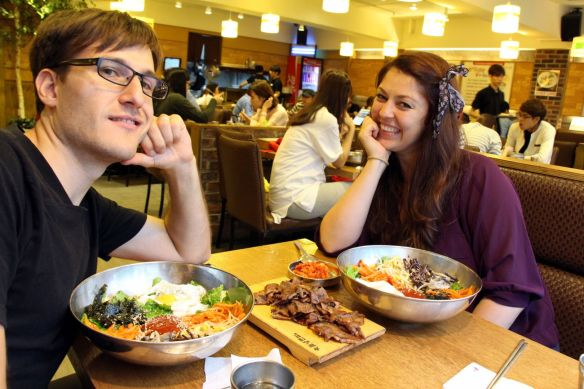 "Bibimbap -  signature Korean dish, literally means ""mixed rice""."