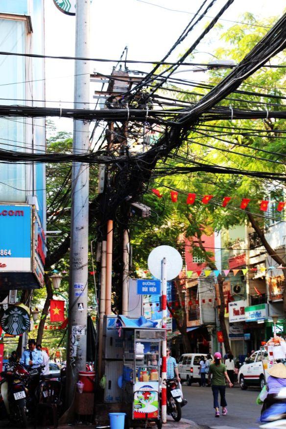 Incredible electrical cords in Saigon